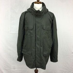 Hawke & Co Green 3 in 1 Water/Wind Resistant Coat